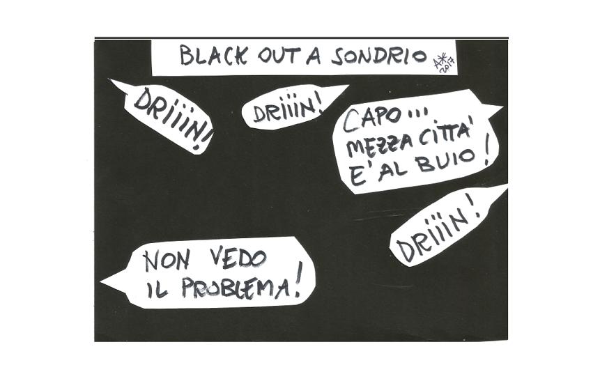 Il blackout di Sondrio ma anche il pesante precedente