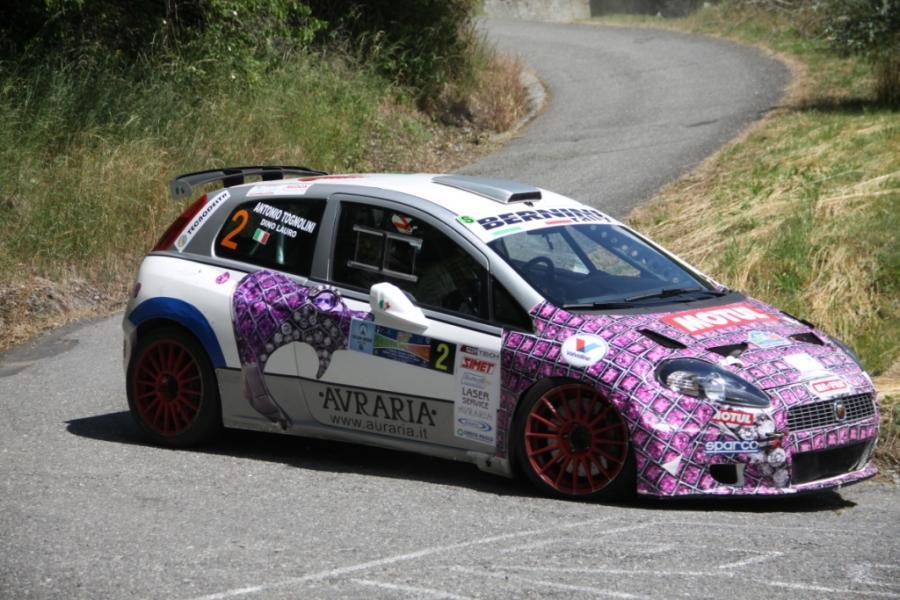 Coppa Valtellina. Il Rally del 60°