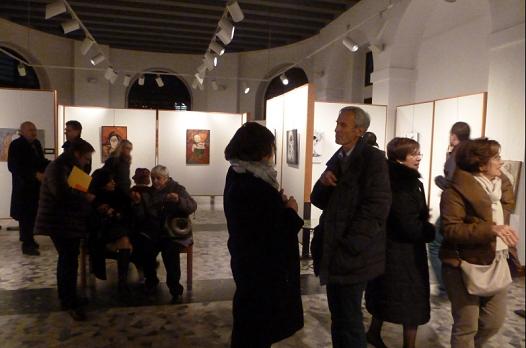 """30 XI Ultimo giorno della Mostra """"Diversamente artisti"""""""