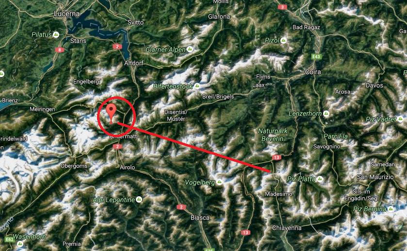 Terremoto avvertito in Valle Spluga