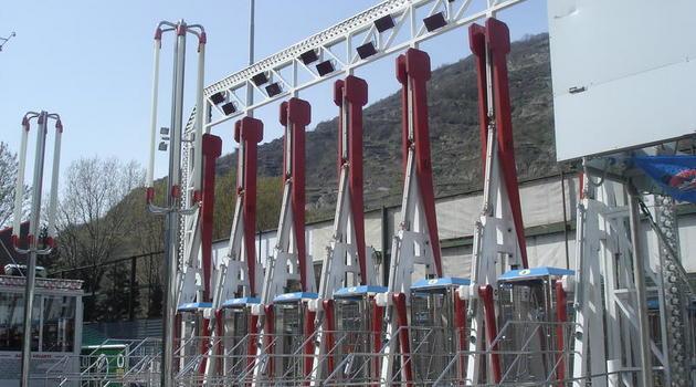 Luna park a sondrio e fino al 27 la gazzetta di sondrio for Giostra a catene